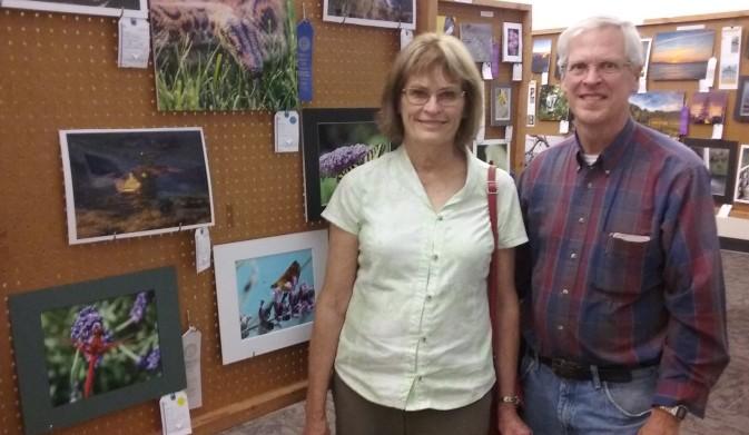 Pat and photos