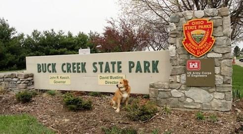 Buck creek sign