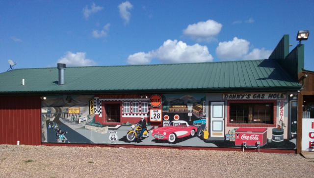 Route 66 stop