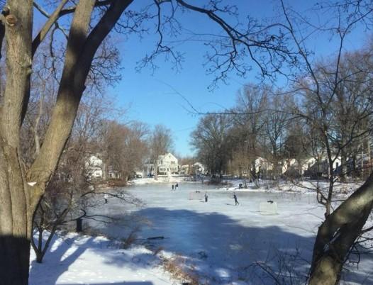 Sailer's Pond Winter 2