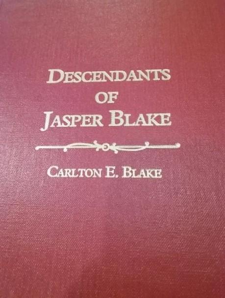 Jasper Blake book