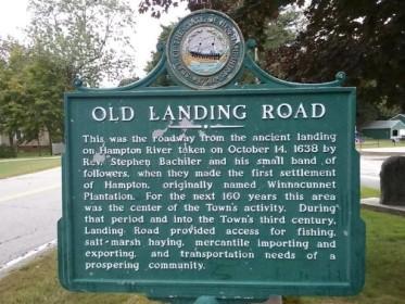 Old Landing Road