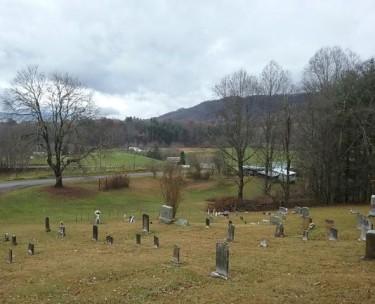 Clark Cemetery view