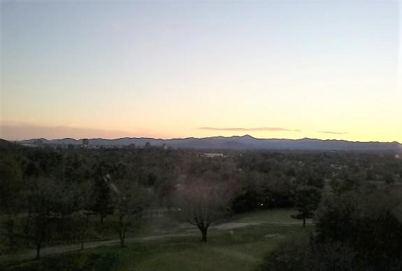 Grove Park sunset