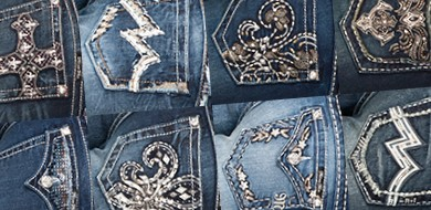 Jeans sparkle