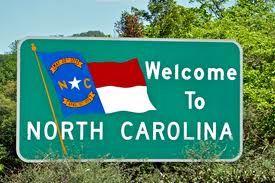 NC sign