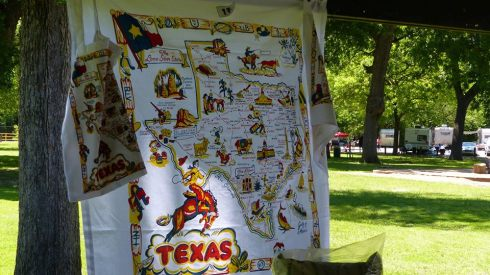 TX tablecloth